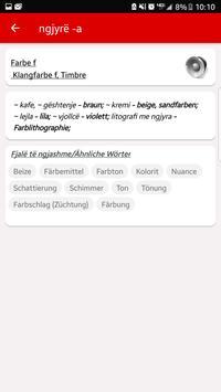 Fjalor Shqip Gjermanisht screenshot 3