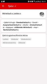 Fjalor Shqip Gjermanisht screenshot 2