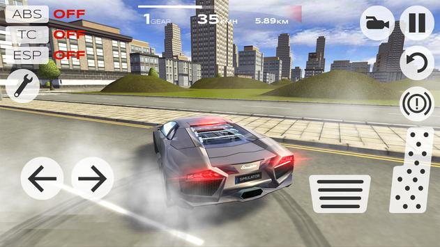 Extreme Car Driving Simulator apk screenshot