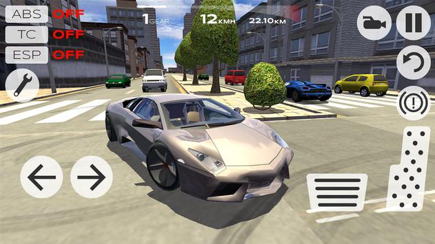 Extreme Car Driving Simulator تصوير الشاشة 19