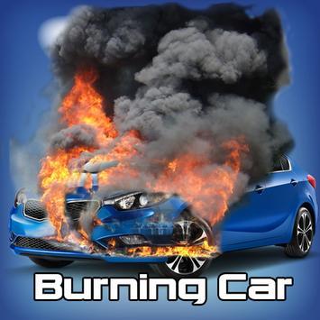 Burning Car Prank apk screenshot