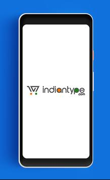 IndianType poster