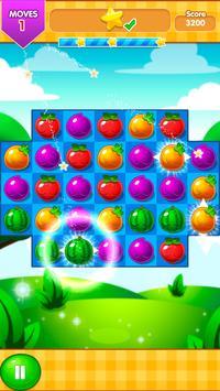 Fruits Blizzard Match 3 poster