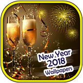 New Year 2018 Wallpapers icon