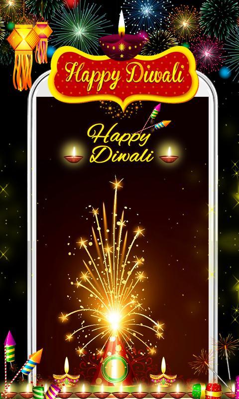 Happy Diwali Live Wallpaper HD Apk Screenshot
