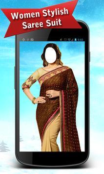 Women Stylish Saree Suit poster