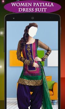 Women Patiala Dress Suit poster
