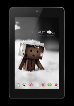 AHL Clock and Weather Widget apk screenshot