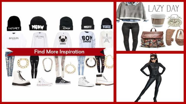 Cool Black Outfit Ideas screenshot 1