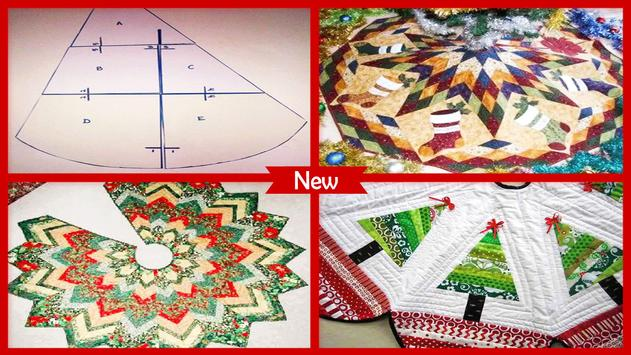 Cool Christmas Tree Skirt Patterns Craft Ideas poster