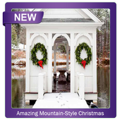 Amazing Mountain Style Christmas Decor Ideas icon