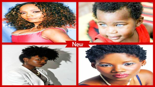 African American Black Hairstyles poster