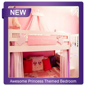 Awesome Princess Themed Bedroom Design Ideas icon
