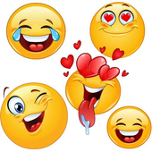 Emoticons for chat icon