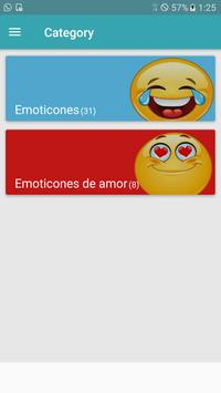 Emoticons for chat apk screenshot