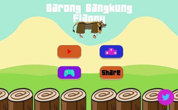 Barong Bangkung Flappy poster