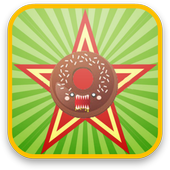 Food serving games icon