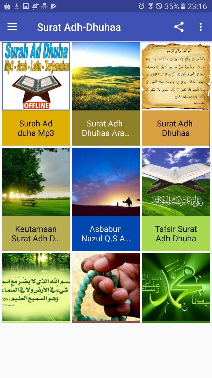 Surah Ad Dhuha Mp3 Arab Latin Dan Terjemahan For Android
