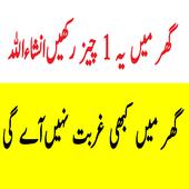 Ghar Mein Yeh Cheez Rakhne Se Gurbat Nahi Aye gi icon