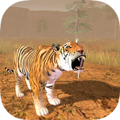Hungry Tiger 3D icon