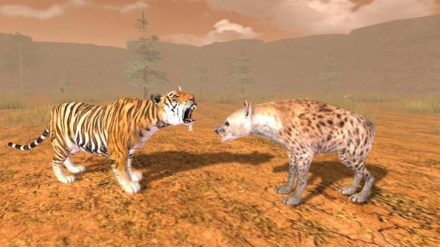 Hungry Tiger 3D poster