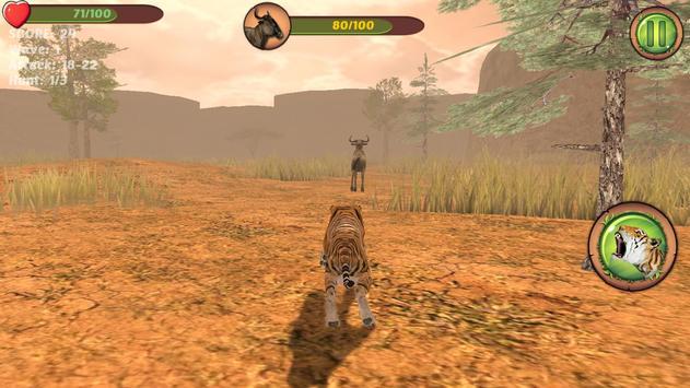 Hungry Tiger 3D apk screenshot