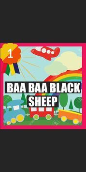 Baa Baa Black Sheep Song poster