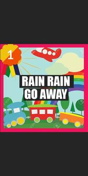 Rain Rain Go AWay song MP3 apk screenshot