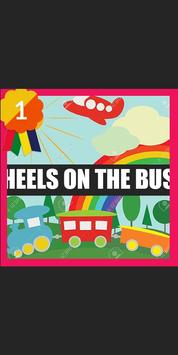 Wheels On The Bus Song poster