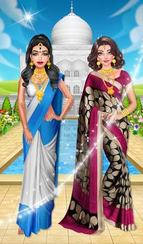 Indian Traditional Costume poster