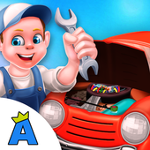 Kids Vehicle Garage Workshop icon