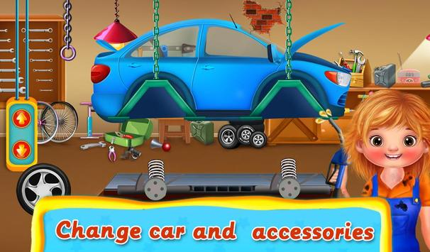 Kids Vehicle Garage Workshop poster