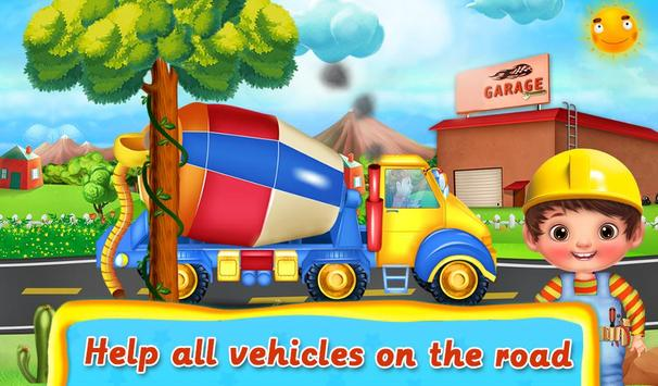 Kids Vehicle Garage Workshop screenshot 1