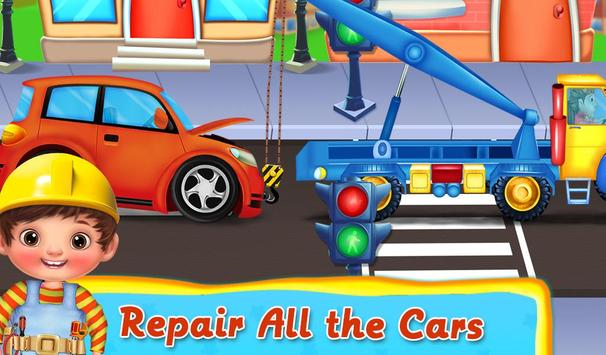 Kids Vehicle Garage Workshop screenshot 2