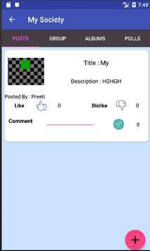 MySociety screenshot 1