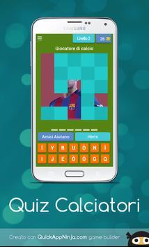 Quiz Calciatori! screenshot 1