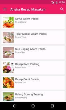Aneka Resep Masakan poster