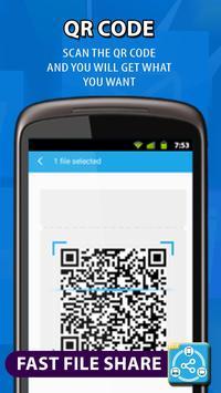 Dosyaları aktarın ve paylaşın, veri kopyala Ekran Görüntüsü 4