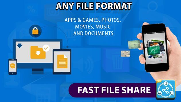 Dosyaları aktarın ve paylaşın, veri kopyala Ekran Görüntüsü 7
