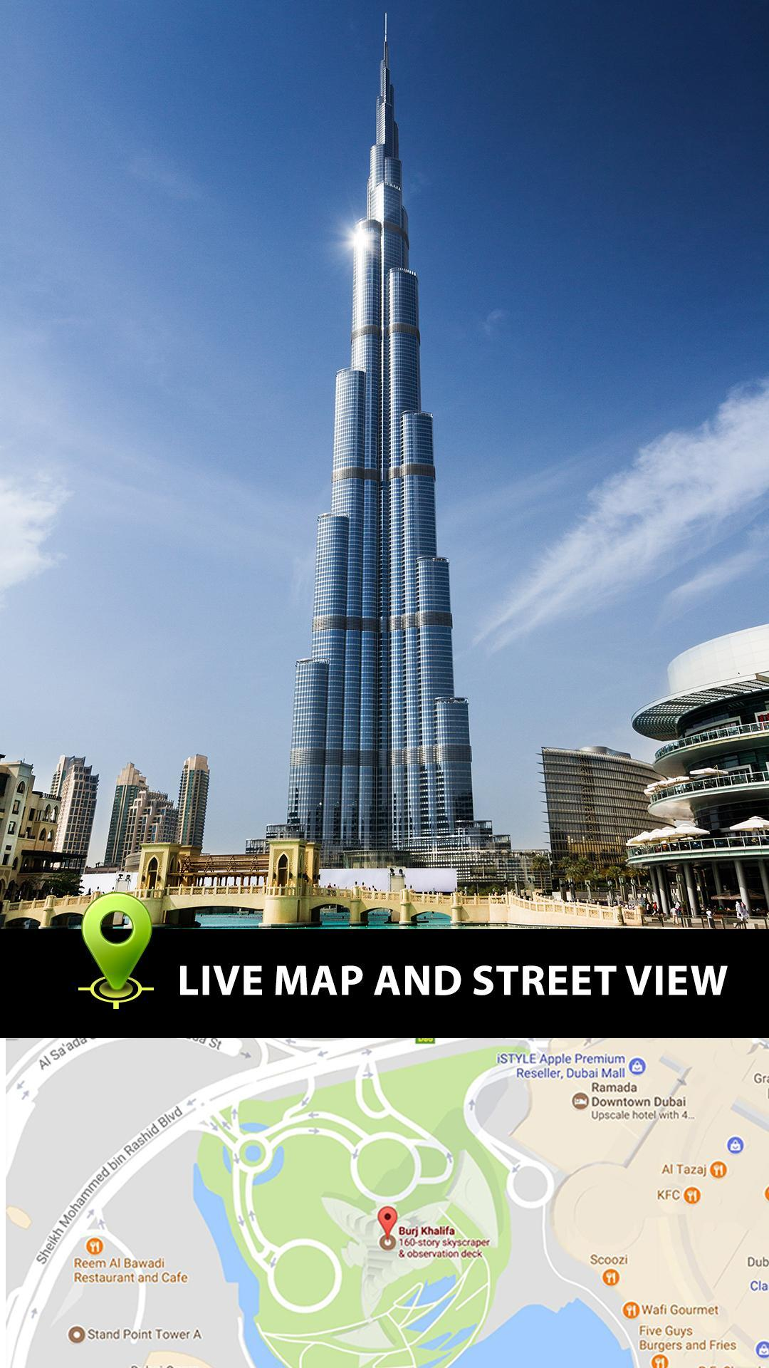 Dubai Map Directions on
