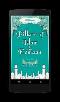 Pillars of Islam & Eemaan Plakat
