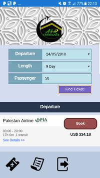 AirUmrah - Ticketing Service poster