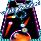 Friends Online PvP Air Hockey icon