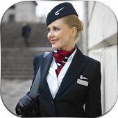 Air Hostess Picture Editor icon