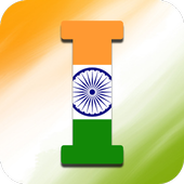 Indian Flag Letter icon