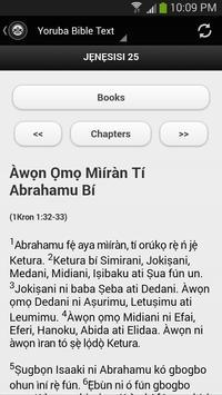 Yoruba Bible Text apk screenshot