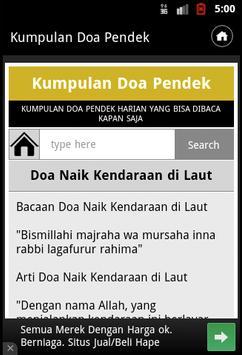 Kumpulan Doa Pendek apk screenshot