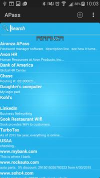 APass Password Manager screenshot 2