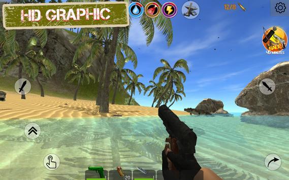 Rustland - Last Day Survival and Craft Island 3D Mod