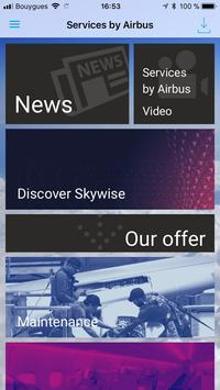 Services by Airbus Portfolio poster